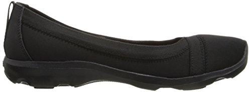 crocs Damen Bsydaystrtchflt Ballerinas Schwarz (Black/Black)