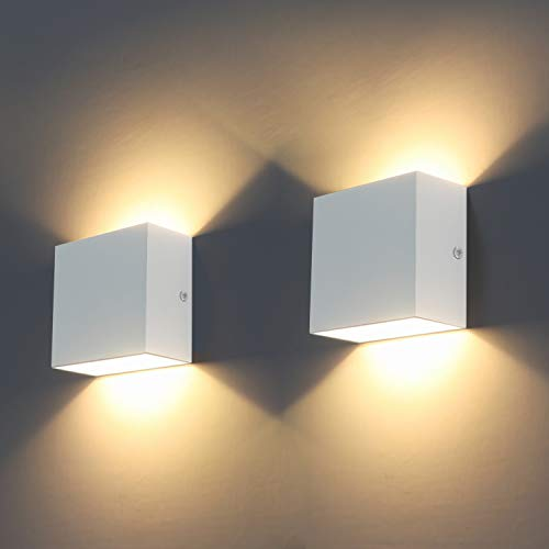 LED Wall Lights, 2Pcs Indoor Mod...