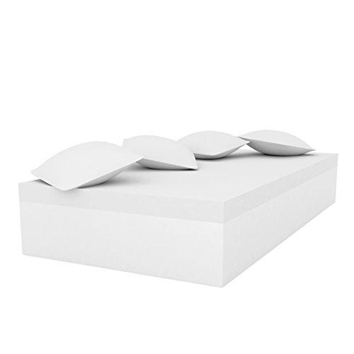 Vondom Quadrat Daybed 120 Blanc