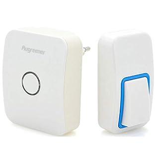 Yongse Augreener Schnurlos Wireless Control Türklingel Batterieloser 25 Chime Digital-Türklingel