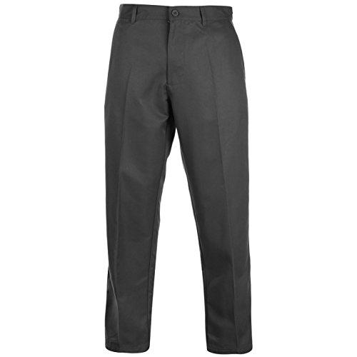 Slazenger Herren Golf Hose Regular Fit Anthrazit 34W 33L