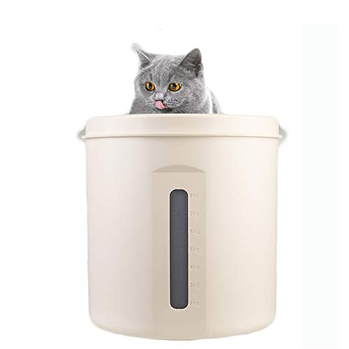 Fazeer Cat Food Storage Sealed Box Storage Barrel Grain Barrel Food Container Luftdicht Rice Eimer Mit Deckel (Container Luftdicht Food Cat)