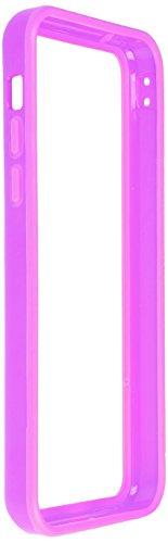 Horny Protectors iP5c-4012c TPU Silikon Schutzhülle für Apple iPhone 5c (nicht 5S) transparent/gelb Lila