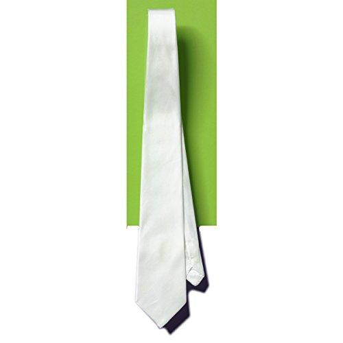 Seidenmalerei - Krawatte Seide natur-weiß 142x9,5cm, Pongé 08 zum Bemalen mit Seidenmalfarben