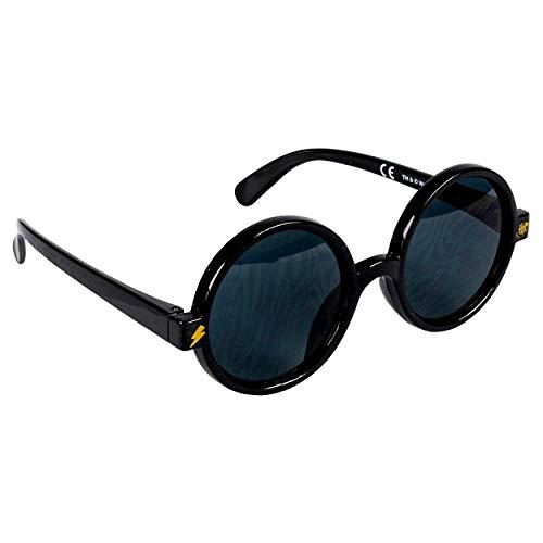 Jungensonnenbrille Premium Harry Potter | 3+ Jahre | Glas Schwarze Farbe und 100% UV400-Schutz | Leichtes Material | Schwarze