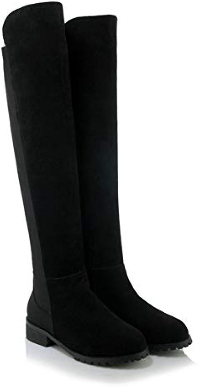 695066d20096a9 cuye bottes pour dames nouveau rond et et et plat de printemps et d'automne hiver  chaud, des bottes de fermeture de bottes b07h7l5vmc parent   Que Nos ...