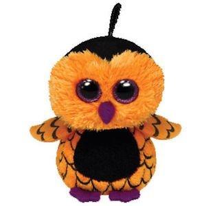 "Beanie Boo Halloween Owl - Key clip - Screech - 7.5cm 3"""