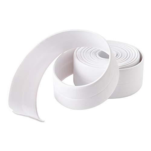 Cinta autoadhesiva de sellado impermeable para la pared de la bañera o el baño, 38 mm x 3,2 m