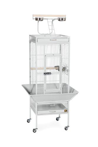 Jaula para pájaros de Hierro Forjado de Prevue Pets, Color Negro...