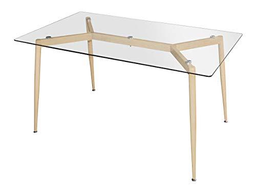 Agionda ® Esstisch Oslo in 140 x 80 cm Scandinavian Style -
