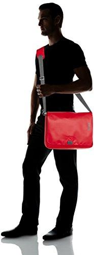 Bree Punch 49 Messenger Borsa a spalla 38 cm compartimenti Laptop Rosso (rosso)