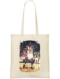 0ec56f9226e Yummy Apparel Michael Jordan Erfolg - Michael Jordan Success Custom Printed  Shopping Grocery Tote Bag…
