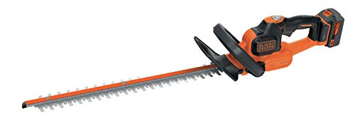 Black+Decker GTC18504PC-QW Black&Decker GTC18504PC-QW-Cortasetos PowerCommand Cut Litio, 50 cm, 18...
