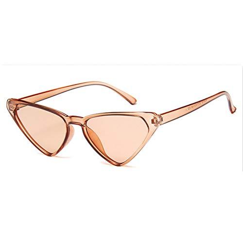 Taiyangcheng Damen Cat Eye Sonnenbrillen Damen Goggle Aviator Sonnenbrille Frame,C6