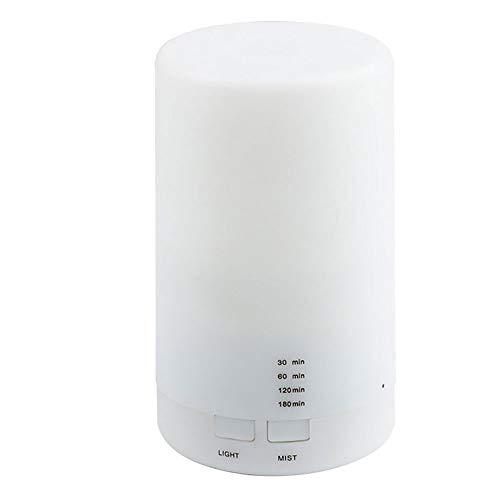 Nebel mit Aroma Diffusoren Ultraschall ätherisches Öl Diffuser Luftbefeuchter kühlen RGB Nachtlicht Aromatherapie Diffusoren wasserlose Auto-Off Luftreiniger Timing Funktion 100ML USB lamp,A
