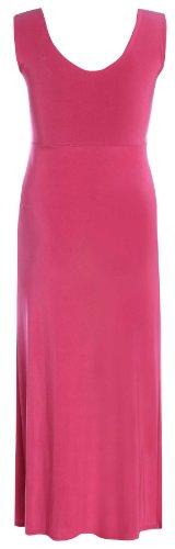 Chocolate Pickle ® Femmes Twist Knot Groupe grecque Boob longue Maxi robe de soirée Cerise