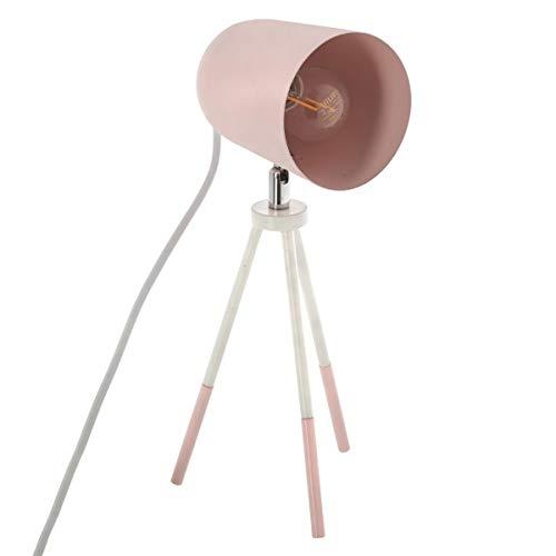Lámpara mesa metal trípode - Estilo Nórdico –