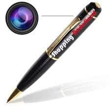 Shopping Redefined Spy Pen Hidden Camera - 4gb Inbuilt Memory - Live Audio Video Recording .