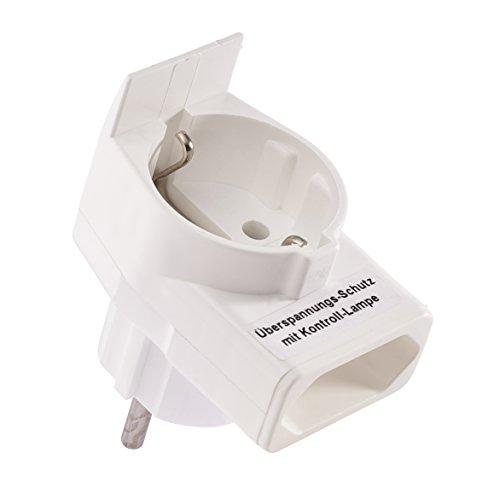 Combi-Duplex Stecker mit Überspannungsschutz für eWickler -