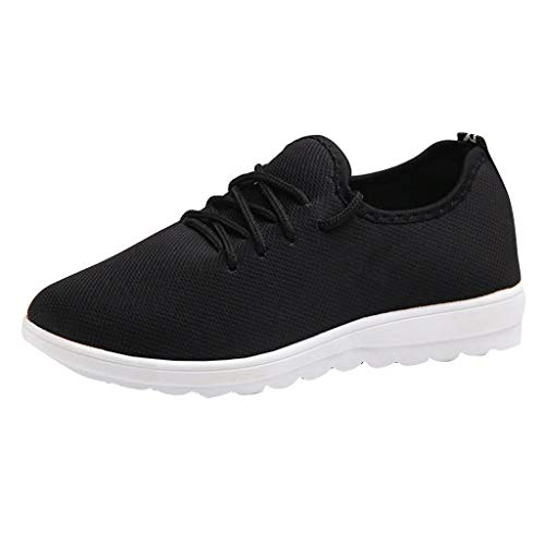 Bluestercool Donne Sneakers Running Scarpe da Ginnastica Piatto Comodo Fitness Scarpe Casual Scarpe da Camminata