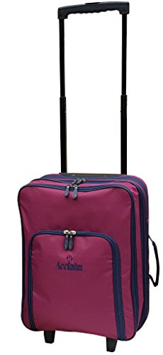 St Andrews Bowls Trolley Bag (Burgundy/Navy Blue)