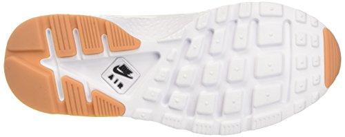 Nike Wmns Air Huarache Run Ultra, Scarpe da Ginnastica Donna Bianco (White/Black/Gum Yellow/White)
