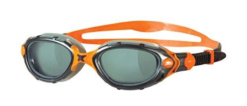 Zoggs Predator Flex Gafas de natación, Hombre, Humo / Negro, Única