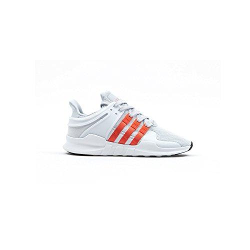 adidas Eqt Support Adv, Scarpe da Ginnastica Basse Uomo Grigio (Clear Grey/bold Orange/footwear White)