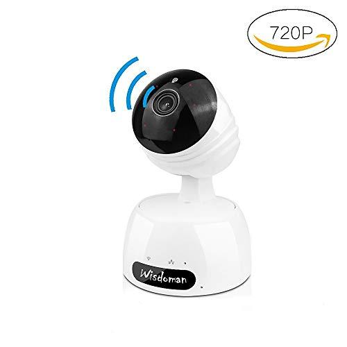 IP Kamera,XYXtech WLAN WiFi 720P Wireless IP Kamera heim überwachungskamera die bewegungserkennung Alarm 2 Weg Audio IR Nachtsicht Nanny Baby Überwachung für Smartphone/PC Mini Sicherheitskamer