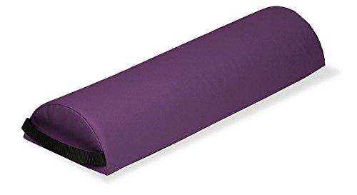EARTHLITE Knierolle Jumbo Halbrund - Halbe Nackenrolle/Nackenkissen für Massageliege oder ideal für Rückenschläfer (73,7 x 23 x 11,4cm)