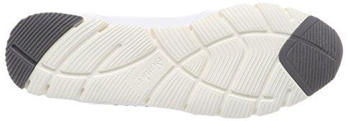 Semler Damen Rosa Sneaker Weiß (Weiss-Silber)