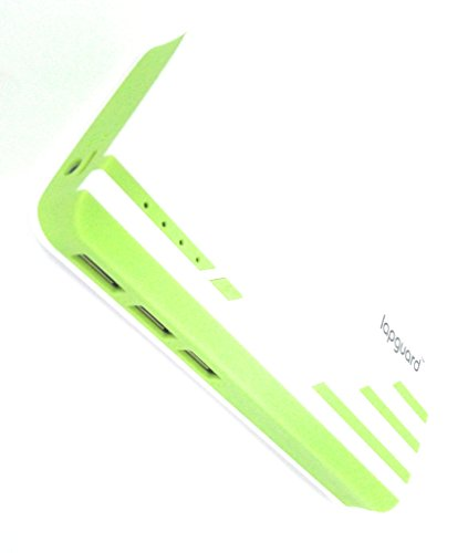 Lapguard Sailing-1530 Power Bank 10400 mAh Make In India portable Charger powerbank -White-Green