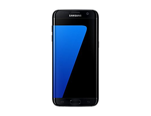 "Samsung Galaxy S7 Edge Smartphone, Schermo 5.5"" Dual edge Quad HD Super AMOLED , 32 GB Espandibili, Nero [Versione Italiana]"