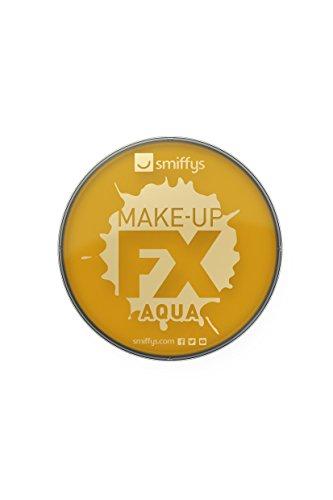 Smiffy's 39143 Make-up FX, Metallic Gold Aqua Face und Body Paint -