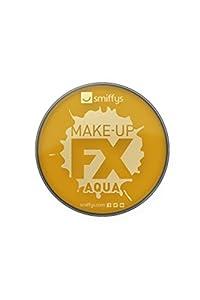 Smiffys Maquillaje FX Smiffy, Aqua Pintura Facial y de Cuerpo, Dorado metálico, 16ml, a Base de Agua