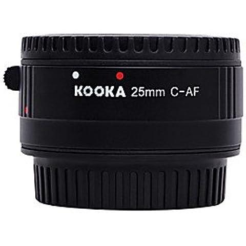 Kooka kk-c25p Nilon macro af 25 millimetri tubo di plastica