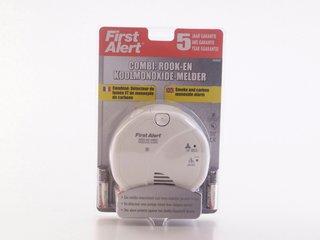 First Alert Rauch- und Kohlenmonoxidmelder SC05CE, Rauchwarnmelder, CO Melder