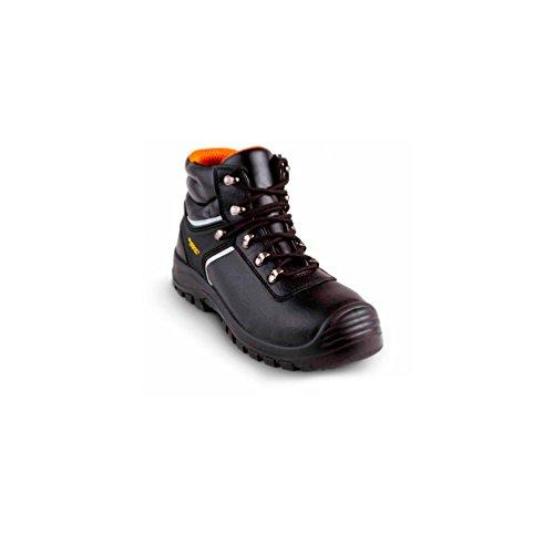 Gaston Mille - Chaussures de sécurité hautes CONSTRUCTOR TOP S3 SRC Noir