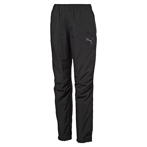 Puma Ess Woven Pants Pantalon Active W, Black Schwarz
