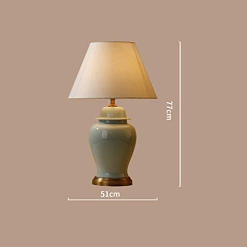 GYP Keramische Tischlampe Cracked Keramik Wohnzimmer Große Schreibtischlampe Schlafzimmer Bedside Lampe Einfache Lampen ( größe : M )