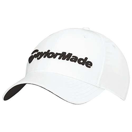 taylormade-2017-performance-seeker-hat-structured-mens-golf-cap-adjustable-white