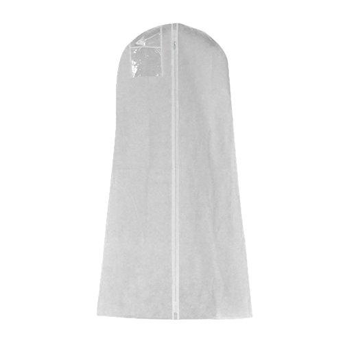 su-luoyu Non-Woven Hochzeitskleid Staubschutz verlängern 160/170/180cm (B:170 * 80 * 22)
