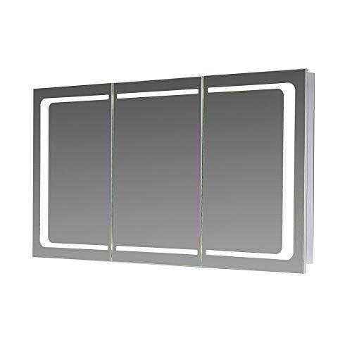 LED Spiegelschrank London von Eurosan - 3 türige Spiegelschrank