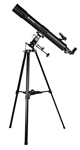 Bresser Refraktor Teleskop Taurus NG 90/900 mit Smartphone Kamera Adapter