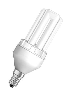Osram 942913 Dulux Superstar Stick 11 W/825, entspricht 55 Watt, Sockel E14 Energiesparlampen in Röhrenform, warmweiß von Osram - Lampenhans.de