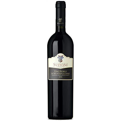 Vino Nobile di Montepulciano DOCG Fattoria Svetoni Vino Rosso italiano (1 bottiglia 75 cl.)