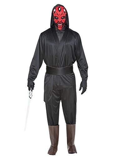 DISBACANAL Disfraz Darth Maul - Único, XL