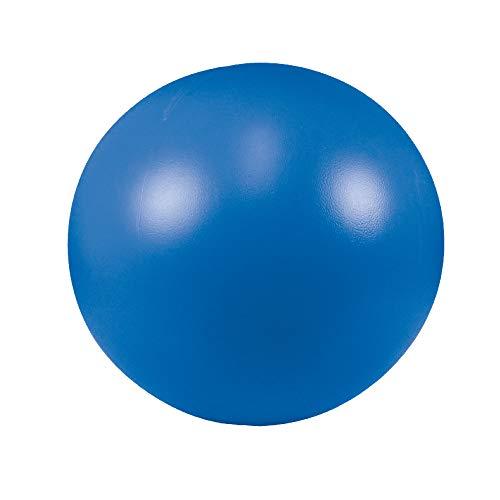 Schecker Treibball blau für Hunde aus harten Kunststoff 28 cm