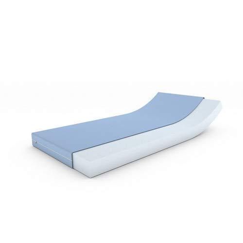 MSS Schaumstoffmatratze, Polyester, Blau, 120 x 200 cm