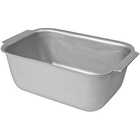 Delia Online-Teglia da forno in alluminio anodizzato, in scatole di latta, 11, Alluminio, Loaf Tin (1lb) - 1 Lb Tin